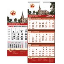 Kalendarze jednodzielne / trójdzielne - dla parafii