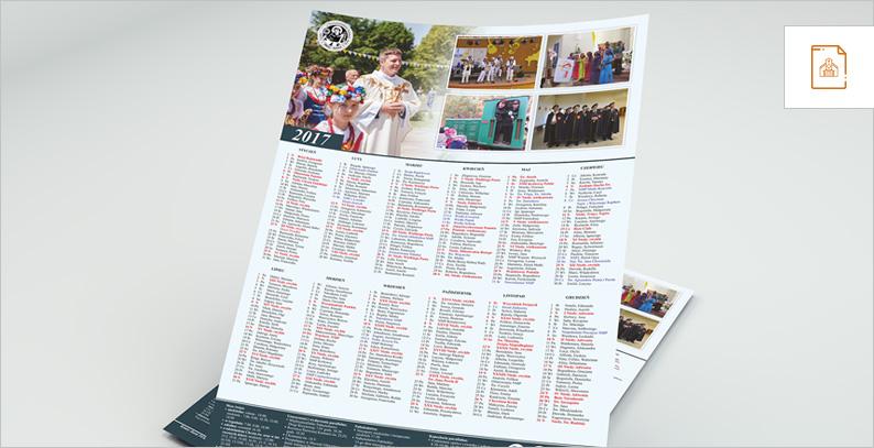 Kalendarze dla parafii