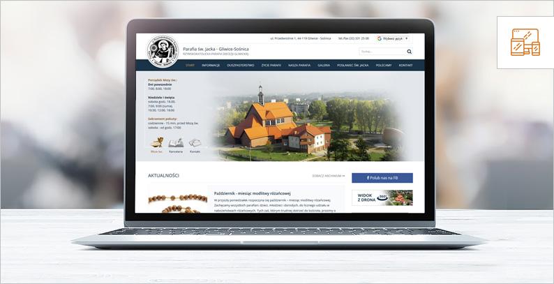 Tworzenie parafialnych stron internetowych