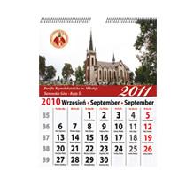 Kalendarze wieloplanszowe - dla parafii